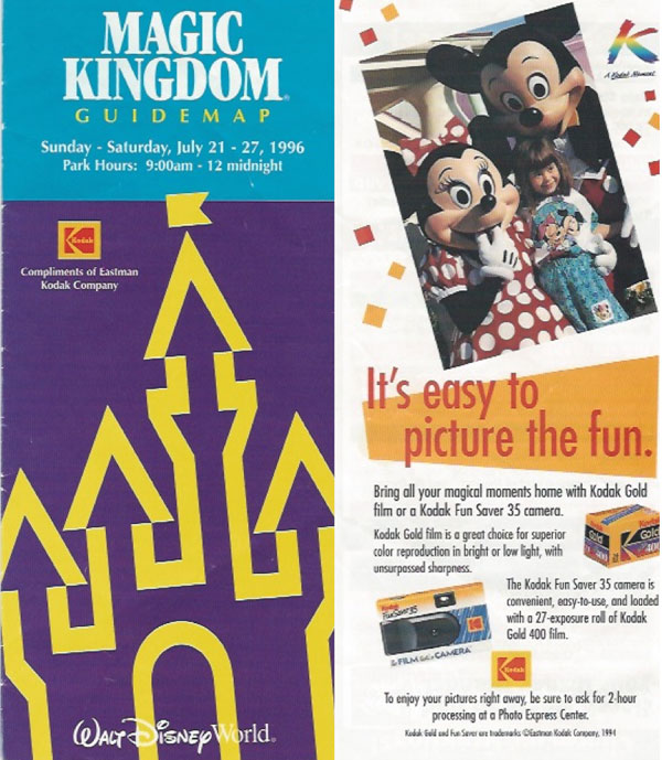 A Look Back at the Disney Magic Kingdom of 1996