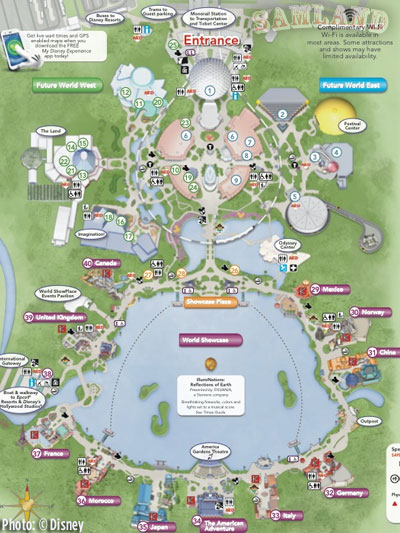 MiceChat - Epcot, Features, Samland - Epcot: Exceptional ...