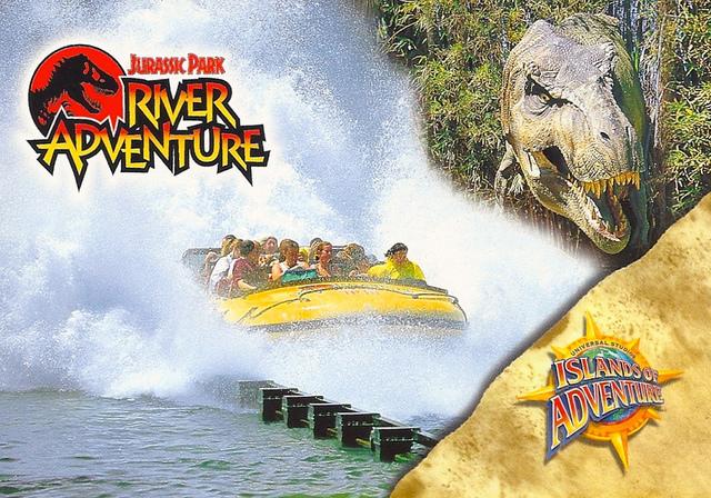Florida Universal Studios Jurassic Park River Adventure Micechat