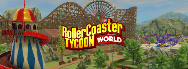 RollerCoaster Tycoon World comes to PC on 12/10