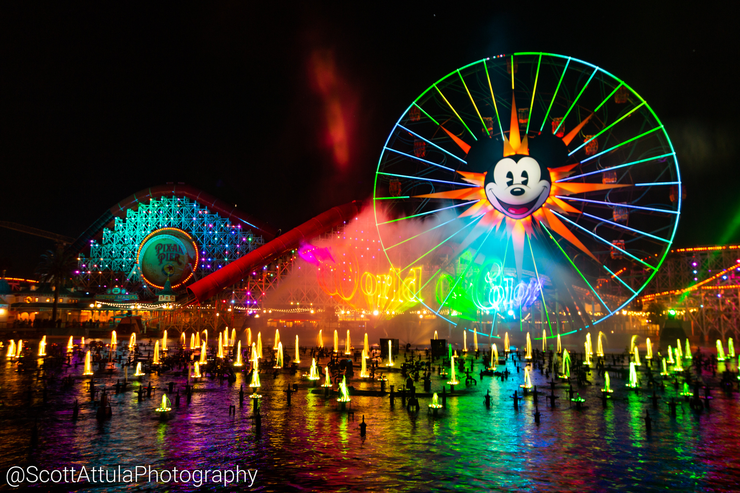 World of Color Reignites the Night at Disney California