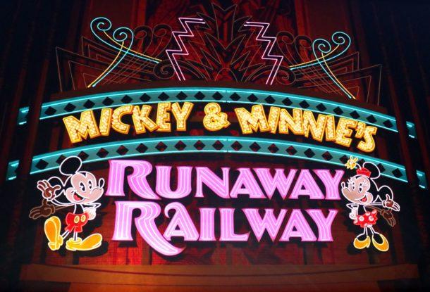 """La construction du chemin de fer Runaway de Minnie commence """"width ="""" 610 """"height ="""" 415 """"/> <br /> Le véhicule a été présenté lors de l'exposition D23 en août. <br /> <img data-attachment-id="""