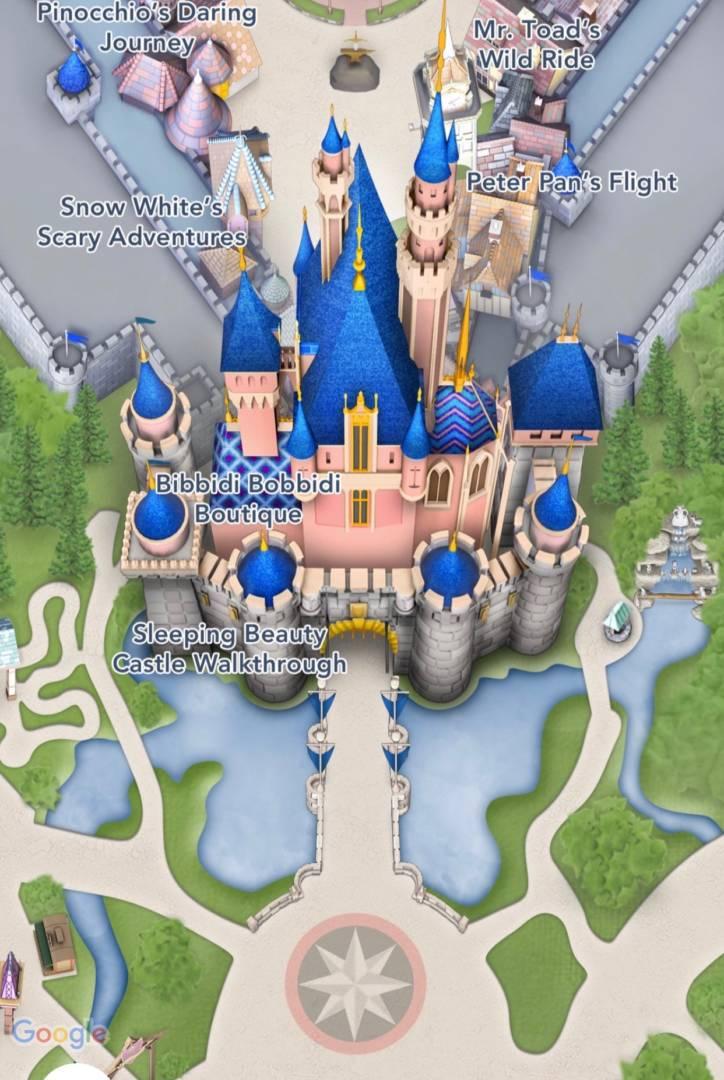 MiceChat - Disneyland Resort, Features - Surprise Disneyland ... on disney world map app, disneyland street map, six flags map app,