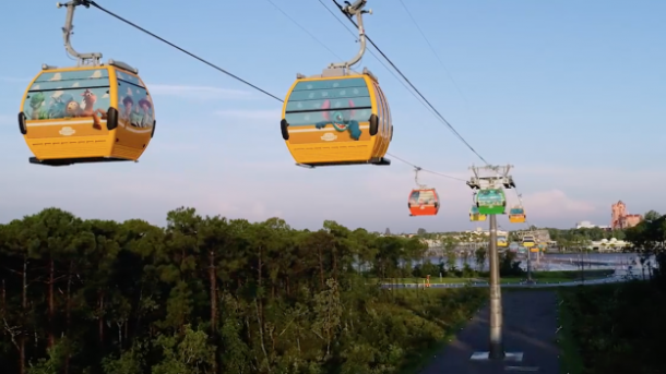 Disney guests evacuated from new Skyliner gondolas