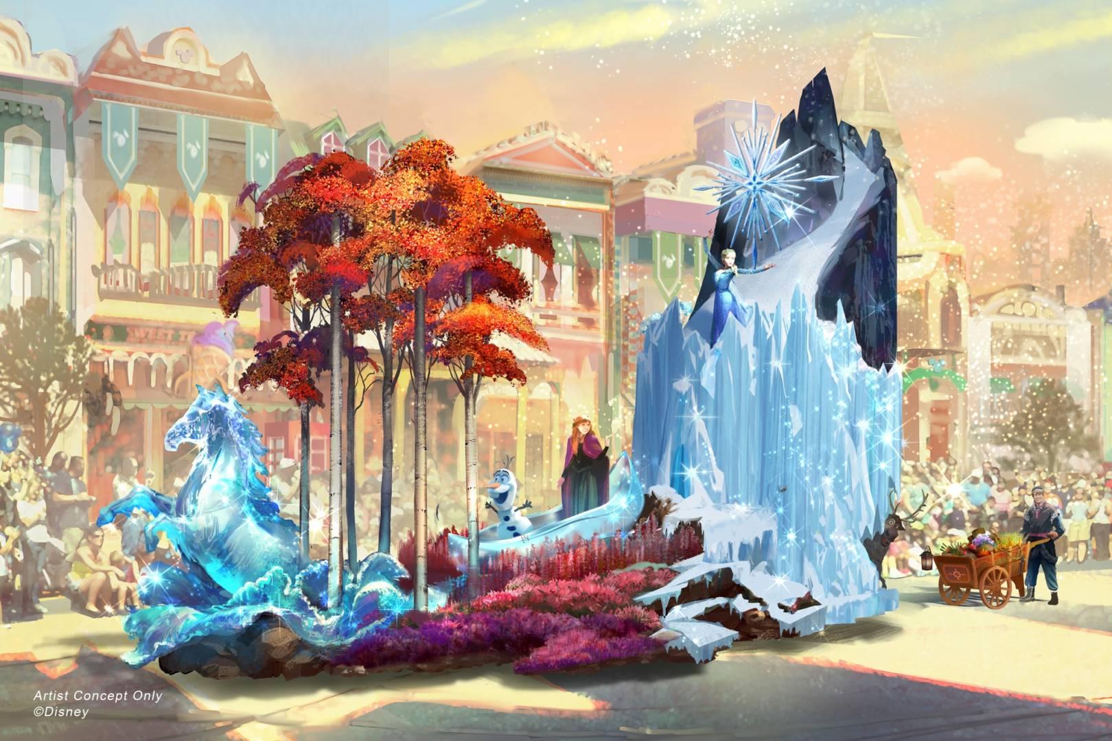 """New """"Magic Happens"""" Parade Gets Real at Disneyland"""