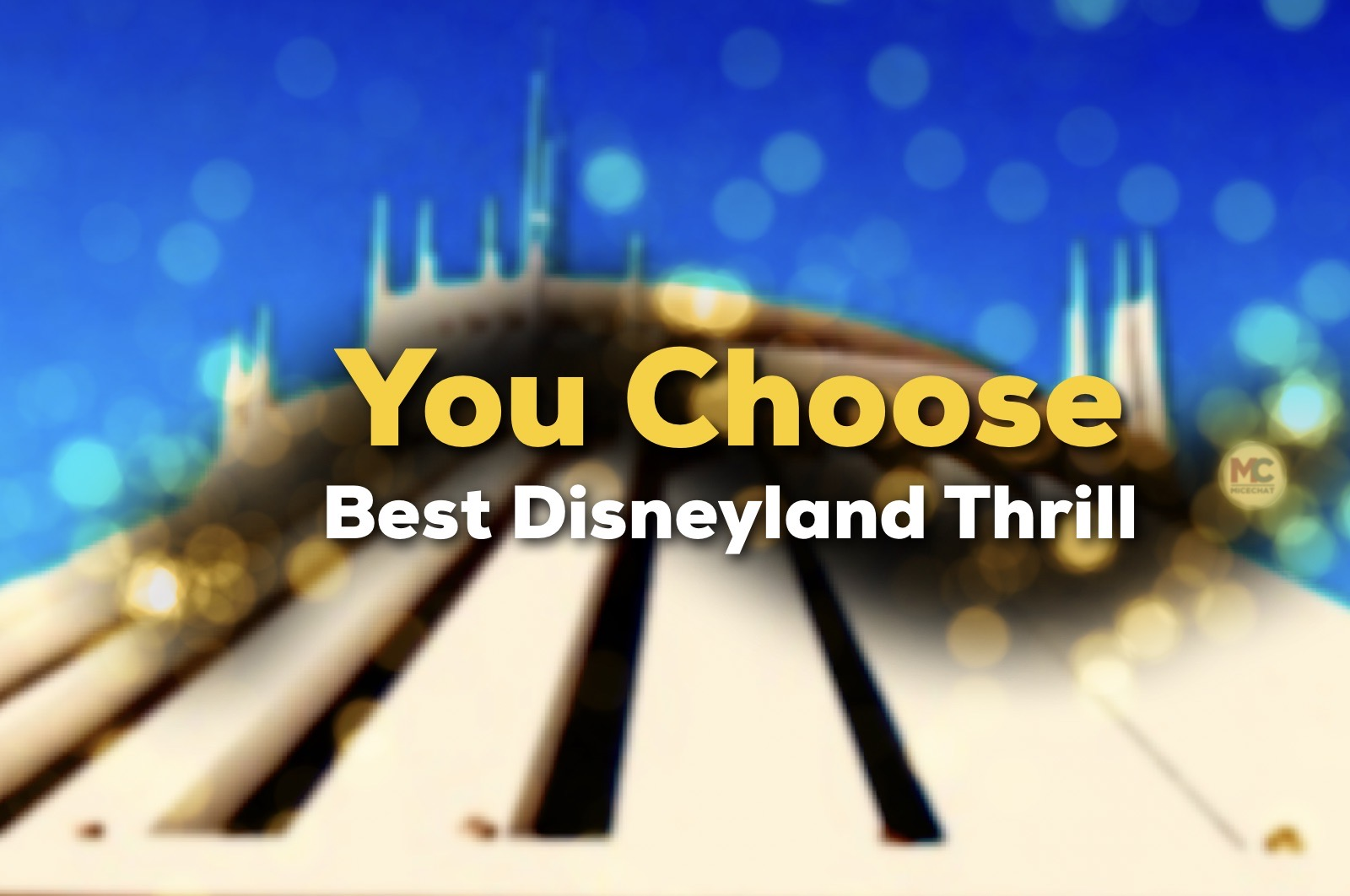 Best Disneyland Thrill Ride Revealed!