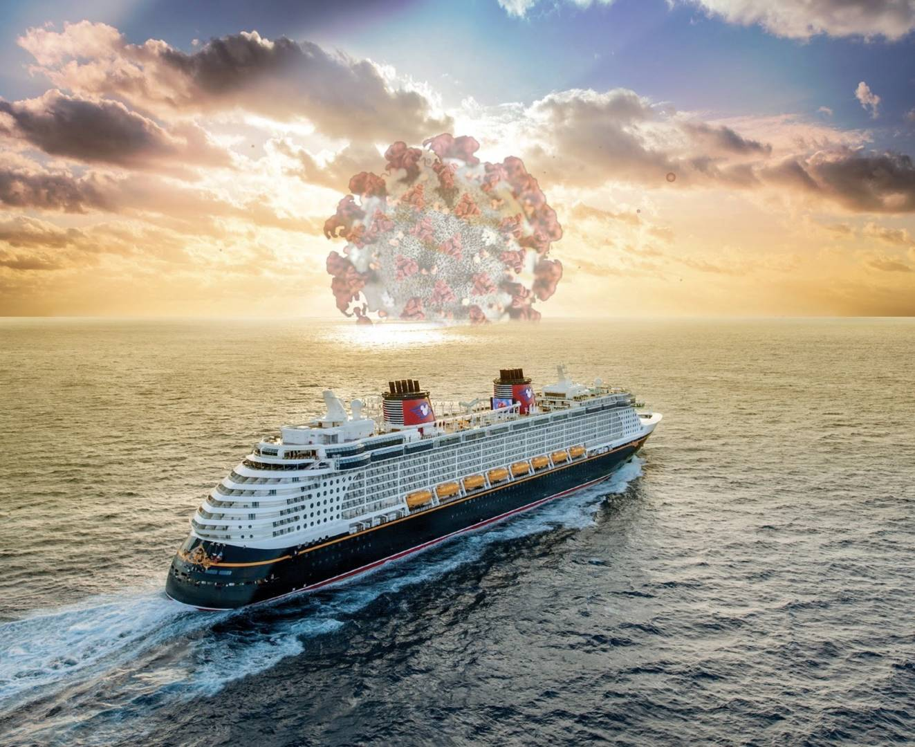 Troubled Waters Disney Cruise Line And Global Health Crisis