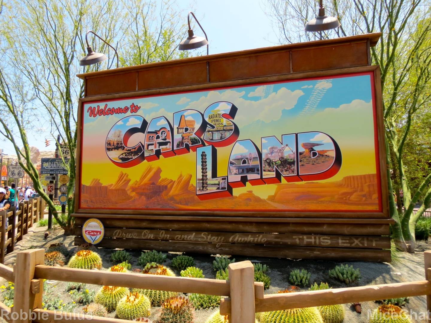 Why Dca S Cars Land Is Smaller Than Pixar S Radiator Springs