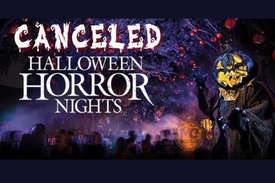 Canceling Or Rescheduling Halloween 2020 CANCELED! Universal's Halloween Horror Nights 2020 is DOA