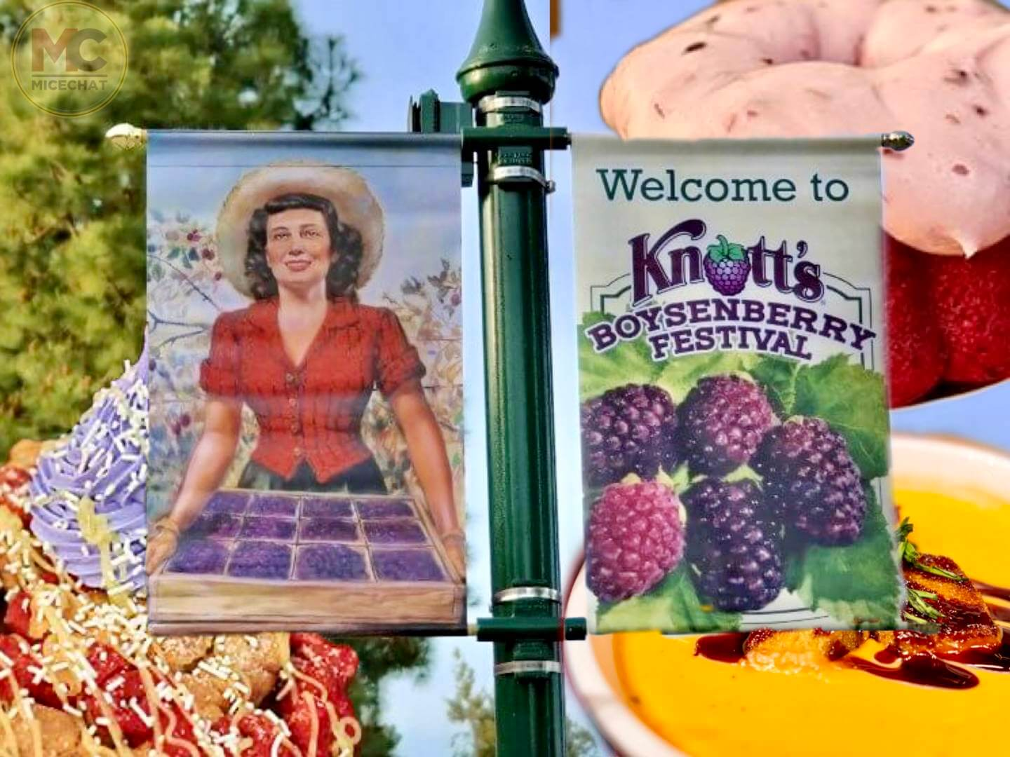 Time to Dig in with Knott's Taste of Boysenberry Festival's Full Menu