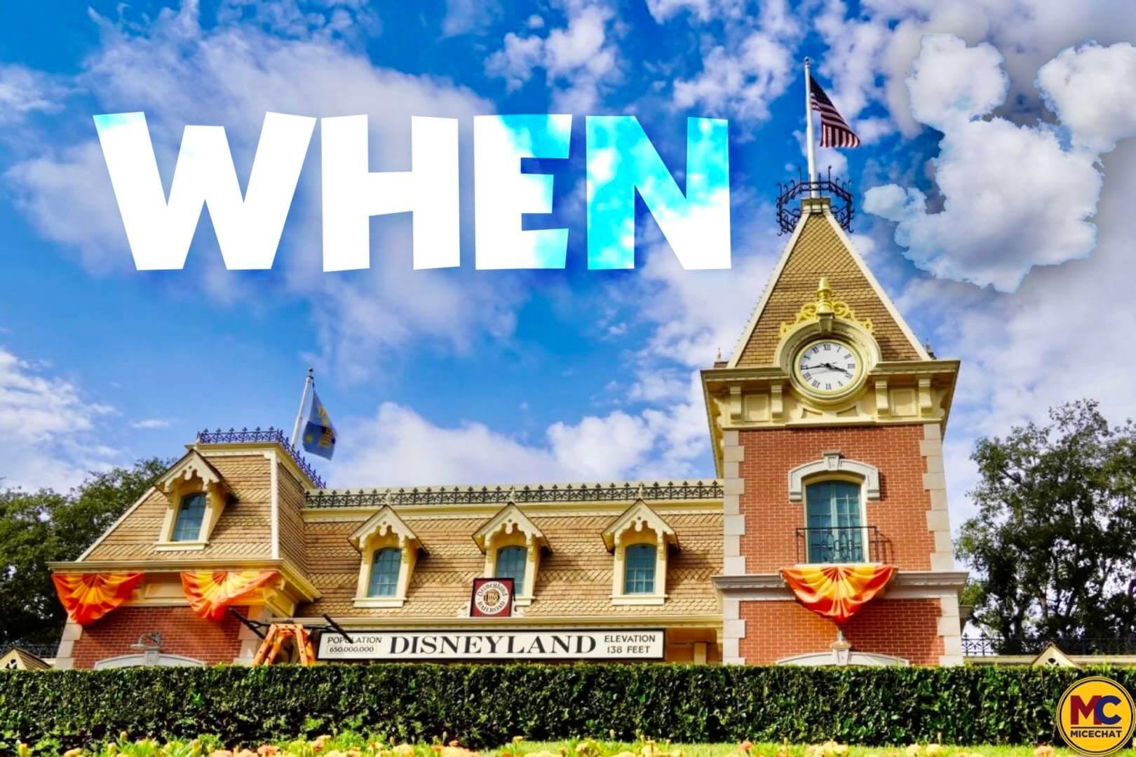Disneyland Update – The Billion Dollar Question